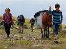Na Araratu není problém si za poplatek 100 až 150 tureckých lir na osobu...
