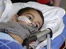 Pětiletý Ashya King přijel v pondělí 8.září do motolské nemocnice.