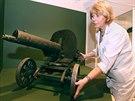 Jeden z exponátů nové výstavy Tváře Velké války - vodou chlazený kulomet.