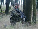 Vojáci z Přáslavic si během závěrečné přípravy hojně vyzkoušeli především...