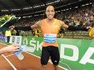 Pascal Martinot-Lagarde v Bruselu vyhrál závod na 110 metrů překážek.
