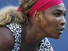 Serena Williamsová během finále US Open