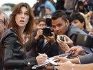Charlotte Gainsbourgová představila v Benátkách režisérský sestřih filmu...