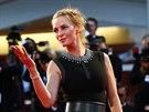 Uma Thurmanová představila v Benátkách režisérský sestřih filmu Nymfomanka (1....