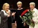 Divadlo na Vinohradech v Praze připomenulo osmdesátiny své někdejší členky Jany...