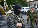 Proruští separatisté se připravují na útok na ukrajinské vojáky na doněckém...