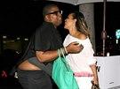 Earvin Johnson známý jako E.J. a LisaRaye McCoy (Los Angeles, 23. června 2014)
