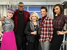 Kelly Osbournov�, Earl E.J. Johnson, Joan Riversov�, George Kotsiopoulos a Giuliana Rancicov� v po�adu  Fashion Police