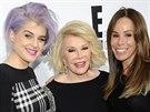 Kelly Osbourne, Joan Riversová a její dcera Melissa (New York, 30. dubna 2012)