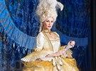 Monika Absolonová v kostýmu z muzikálu Antoinetta - královna Francie