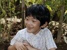 Japonský princ Hisahito, jediný syn prince Akišina a princezny Kiko (Tokyo, 6....