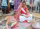 Zvířecího ženicha svatba s lidskou nevěstou unavila.