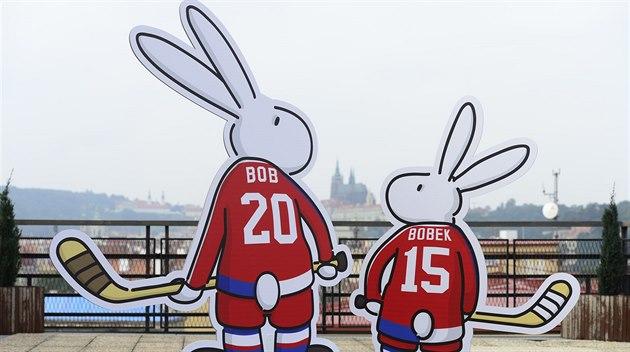 BOB A BOBEK. Maskoti mistrovství sv�ta v ledním hokeji 2015.