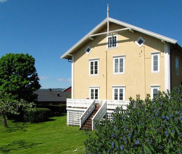 Penzion vypadá jako v�t�ina okolních dom�.