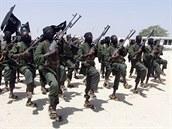 Bojovník hnutí al-�abáb na snímku z roku 2008