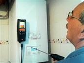 Servisní technici se vybavili m��icím p�ístrojem na m��ení CO.