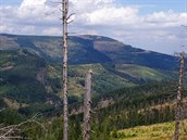 Nejvy��í hora Slezských Beskyd: Skrzyczne (1257 m)