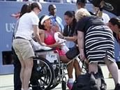 NEPŘÍJEMNÝ ZÁVĚR. Pcheng Šuaj opustila semifinálovou scénu US Open na...