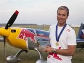 Martin �onka vyhrál na evropském �ampionátu v akrobatickém létání kategorii...