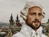 Roman Vojtek v kost�mu z muzik�lu Antoinetta - kr�lovna Francie