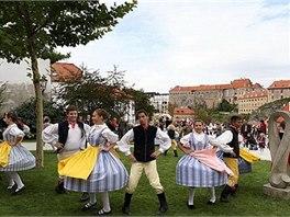 V Seminární zahradě se představí lidové soubory z Česka, Slovenska, Rumunska a