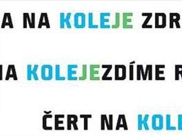 Vítězný návrh umožňuje vymýšlet slogany.