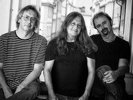 Ivan Hlas Trio (zleva Jaroslav Olin Nejezchleba, Ivan Hlas, Norbi Kovács)