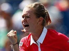 ANO! Marie Bouzkov� ve fin�le juniorky na US Open.