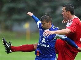 Momentka ze zápasu Velké Meziříčí - Olomouc
