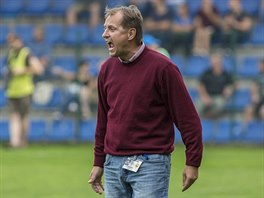 Trenér zlínských fotbalistů Martin Pulpit