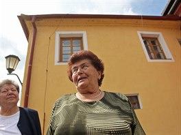 Anna Štumarová (vlevo) a Susana Urbanová vzpomínají na život v židovské čtvrti...