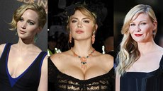 Jennifer Lawrence, Kate Uptonov� a Kirsten Dunstov�