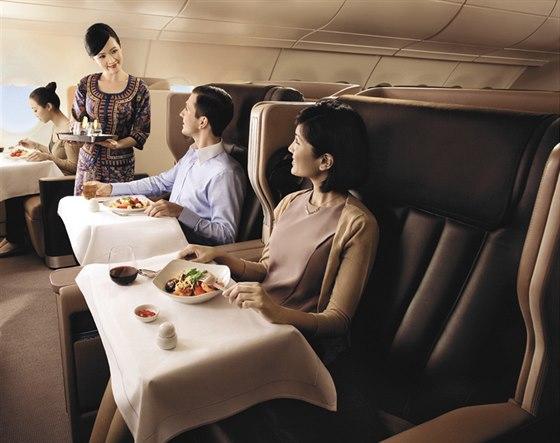 Dopřejte si během letu ten nejvyšší komfort