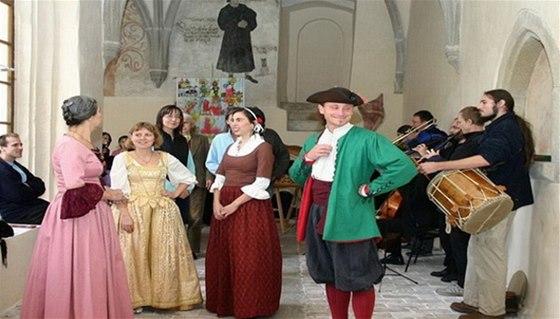 Koncerty staré hudby v rámci Slavností Adama Michny z Otradovic