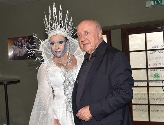 Dagmar Patrasová s manželem Felixem Slováčkem