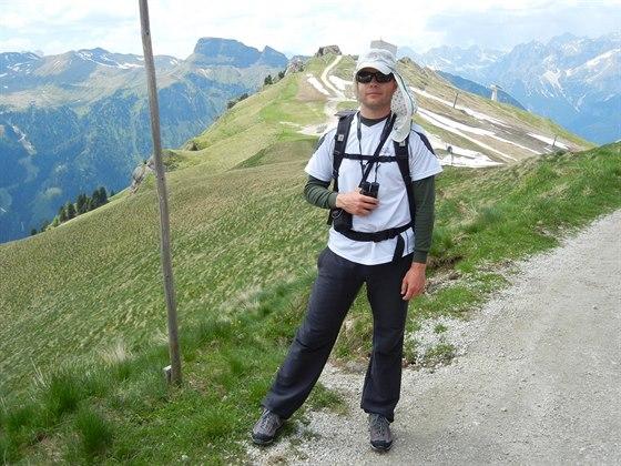 Jsem velký turista, ale na svých výletech už uvažuji o běhání (rok 2013)