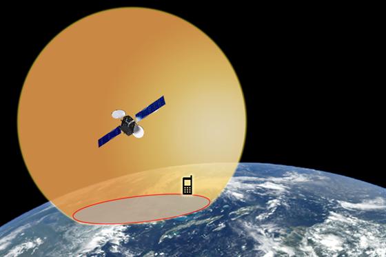Jedna družice k určení polohy nestačí. Mobilní telefon s přijímačem GPS zná...