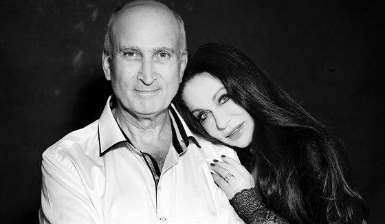 Blanka Matragi a její manžel Makram