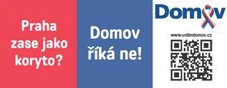 Předseda a kandidát na primátora za stranu Domov David Štěpán