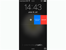 iOS 8 - na notifikace lze reagovat i na zam�en� obrazovce.