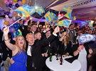 Populistická strana Švédští demokraté ve volbách výrazně posílila (14. září...