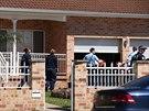 Zátah australských policistů proti islámským radikálům na předměstí Sydney (18....