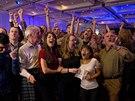 V centr�le unionist� propukly ve chv�li, kdy byly v�sledky referenda ozn�meny,...