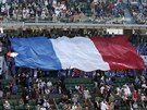 Francouzští diváci vytvořili tenistům v souboji o finále Davis Cupu proti...