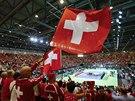 Švýcarští tenisoví fanoušci v Ženevě se těší na daviscupové semifinále proti...