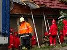 Nákladní auto v Ješíně na Kladensku nabouralo do rodinného domu. Podle majitele...