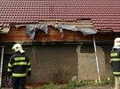 N�kladn� auto v Je��n� na Kladensku nabouralo do rodinn�ho domu. Podle majitele...