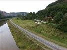 Nová cyklostezka vede ze Zbraslavi na Jarov a měří více než 2,5 kilometru ...