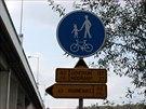 Nov� cyklostezka vede ze Zbraslavi na Jarov a m��� v�ce ne� 2,5 kilometru ...