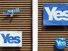 Podle posledních průzkumů by pro samostatnost Skotska hlasovalo 46 procent...